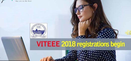 VITEEE 2018 Application Process and Eligibility