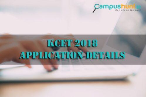 KCET 2018 Application