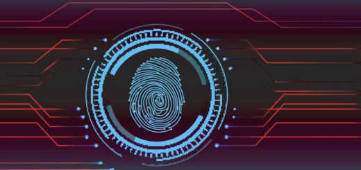 Fingerprint Scanning Technology Concept Illustration Best BSc Forensic Science Colleges in Bangalore