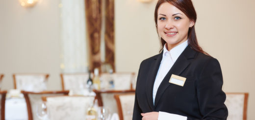 Best MBA Hotel Management Colleges in Bangalore Waitress at Catering Service