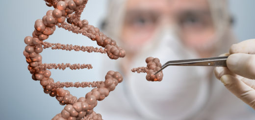 Best Genetic Engineering Colleges in Bangalore - Scientists Replacing Part of DNA Molicule