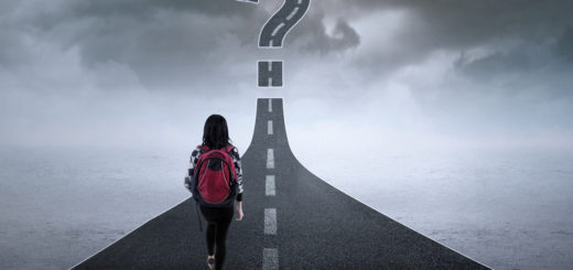 How To Choose The Career Path For You; A Student On A Path With Question Mark