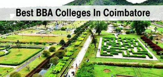 Best BBA Colleges in Coimbatore