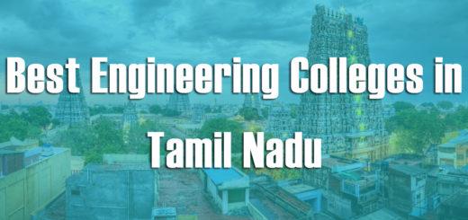 Best Engineering Colleges in Tamil Nadu