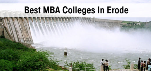Best MBA Colleges in Erode