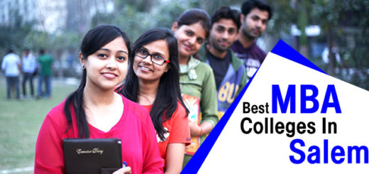 Best MBA Colleges in Salem