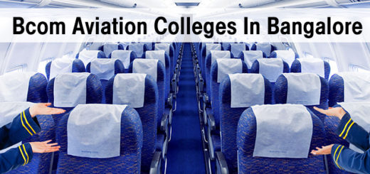 Best Bcom Aviation Colleges In Bangalore - Bcom integrated with Aviation Management