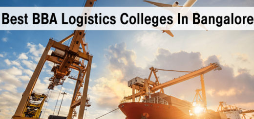 Best BBA Logistics Management Colleges in Bangalore