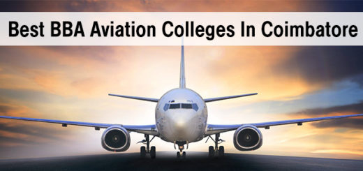 Best BBA Aviation Colleges In Coimbatore