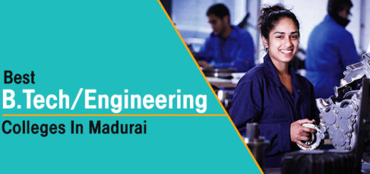 Best B.Tech/Engineering Colleges in Madurai