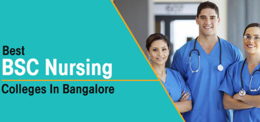 Best BSc. Nursing Colleges In Bangalore