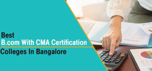 Best B.Com with CMA Certification Colleges in Bangalore
