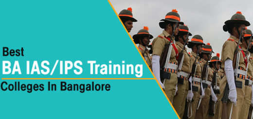 Best BA With IAS/IPS Training Colleges in Bangalore