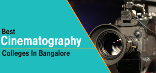 Best BA in Cinematography Colleges in Bangalore