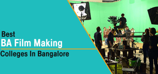 Best BA In Film/Movie Making Colleges in Bangalore