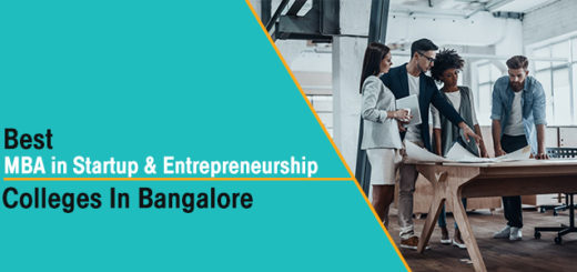 Best MBA in Startup & Entrepreneurship Colleges in Bangalore