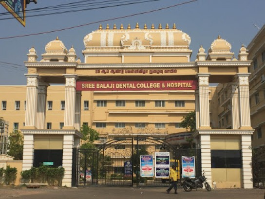 Sree Balaji Dental College & Hospital
